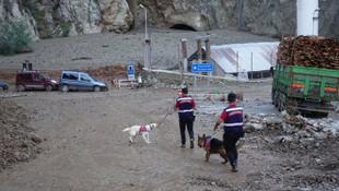 Selin vurduğu Yusufeli Barajı havadan görüntülendi