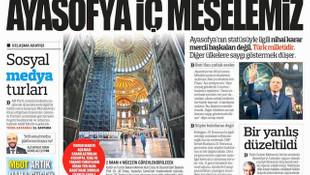 Türkiye gazetesinden ''Hz. Muhammed'' sansürü