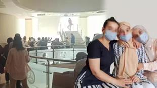 3 kız babalarını tacizle suçlamıştı! Adliye öncesi tekme tokat kavga