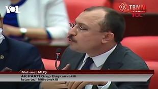 AK Partili Muş ''Sayın Fetullah Gülen'' dedi, uyarı geldi