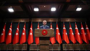 Cumhurbaşkanı Erdoğan: ''Salgının zirve dönemini geride bıraktık''