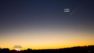 NASA tarafından keşfedilen kuyruklu yıldız Tekirdağ'da görüntülendi