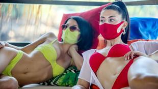 İşte plajların koronavirüsteki yeni modası: Trikini!