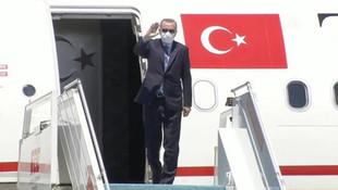 Erdoğan'dan salgın sonrası ilk yurt dışı ziyareti