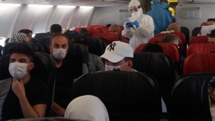 Diyarbakır – Ankara uçağında corona virüsü paniği