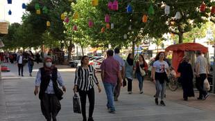 Kırşehir'de koronavirüs vaka sayıları düşüyor