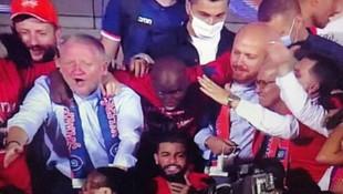 Bilal Erdoğan'ın şampiyonluk sevinci kamerada