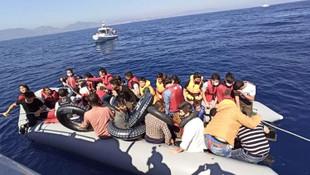 Ege'de 44 sığınmacı daha kurtarıldı