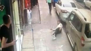 İstanbul'da silahlı saldırı dehşeti kamerada