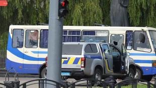 Ukrayna'da rehine krizinde yeni gelişme! Devlet Başkanı saldırganla görüştü