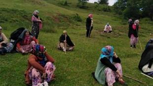 Maden şirketine karşı direnen 12 kadın gözaltına alındı