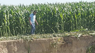 Konya'da 25 metre çapında yeni obruk