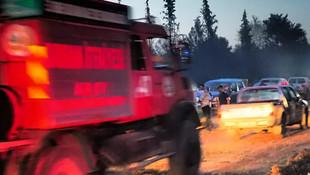 Edirne'de orman yangını!