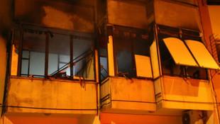 Cezaevinden izinli çıktı, evini ateşe verdi