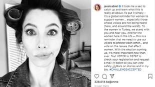 Dünyaca ünlü isimlerden Türk kadınlarına destek