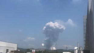 Sakarya'da havai fişek fabrikasındaki patlamadan yeni görüntü