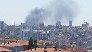 İstanbul'da korkutan yangın! Dumanlar gökyüzünü sardı