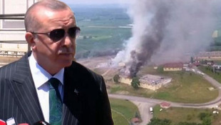 Erdoğan'dan patlamayla ilgili ilk açıklama