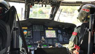 İstanbul'da helikopterle trafik denetimi!