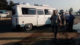 Aydın'da minibüs devrildi: 11 yaralı