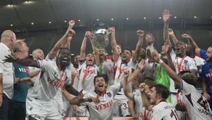 Türkiye Kupası'nın sahibi Trabzonspor oldu