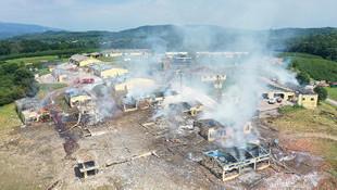 Fabrikadaki patlamada kaybolan 3 kişi aranıyor!