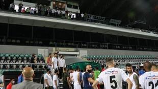 Denizli'de maç bitti, ortalık karıştı!