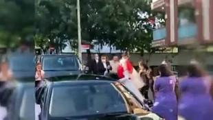 İstanbul'da düğün eğlencelerinde dehşete düşüren görüntüler!