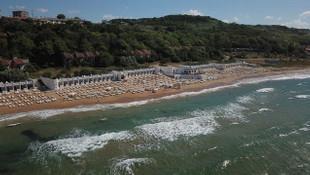 Kilyos'ta ücretli plaj, vatandaşları isyan ettirdi!