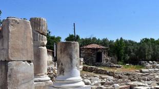 Antik kentte 1720 yıllık fiyat listesi!