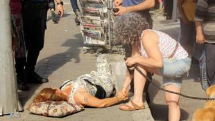 İstanbul'da karakolun önünde dehşet!