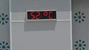 Gaziantep'te 52 derece sıcaklık bile vatandaşları evde tutmaya yetmedi