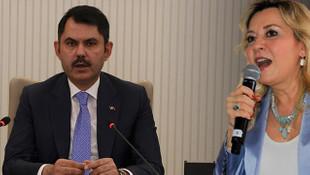 Bakan Kurum'dan İYİ Partili Aylin Cesur'un sözlerine cevap