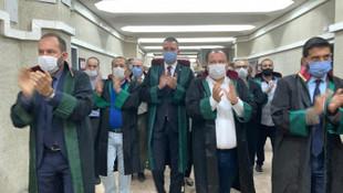 Ankara Adliyesi'nde ''çoklu baro sistemi'' eylemi