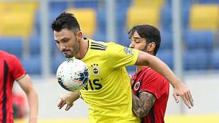 Ankara'da gollü beraberlik: Gençlerbirliği-Fenerbahçe: 1-1