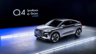 Audi'nin yeni elektrikli modeli Q4 Sportback e-tron görücüye çıktı