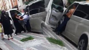 Aldatan adama suçüstü! Öfkeli kadın, kocasını evire çevire dövdü