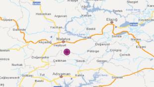 Malatya'da 4.4 büyüklüğünde deprem!