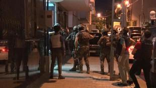 İstanbul'da terör operasyonu; çok sayıda gözaltı var!