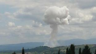 Sakarya'da şiddetli bir patlama daha! Yaralı askerler var