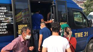 İstanbul'un koronavirüs minibüsleri yine seferde!