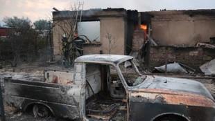 Ukrayna'da çıkan yangın 4 gündür söndürülemiyor