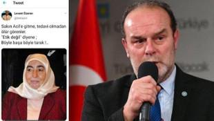 İYİ Partili Levent Özeren'in çirkin paylaşımına tepkiler büyüyor