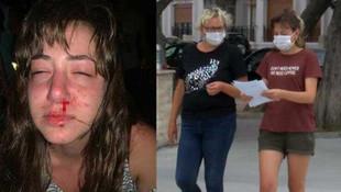 Eğlence mekanında anne ve kızına şiddet