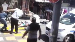 İstanbul'da sopalı bıçaklı kavga kamerada