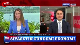 Babacan'dan Erdoğan'a ''Ekonomimiz uçuşta'' yanıtı