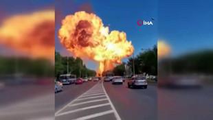 Rusya'da feci patlama! Ortalık savaş alanına döndü