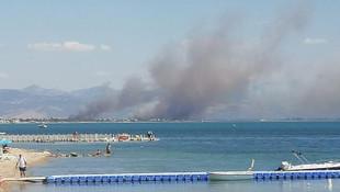 Balıkesir'de korkutan yangın!