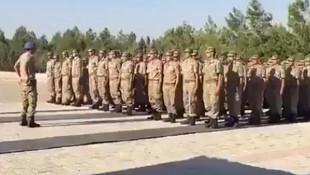 Komandolardan duygulandıran Eren Bülbül yürüyüşü