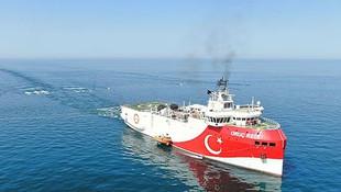 Türkiye'nin sismik kablosu Akdeniz'e indi!